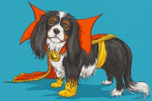 собаки Marvel