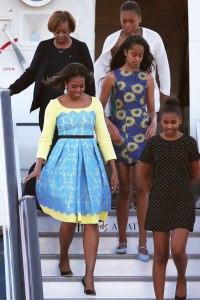 Мішель і Малія Обами