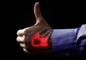 Еластичний світлодіодний дисплей