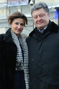 Марина і Петро порошенко