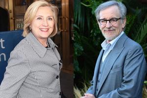 Стівен Спілберг і Хілларі Клінтон