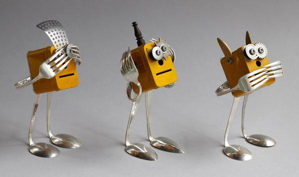Роботы своими руками из подручных материалов для детей 9
