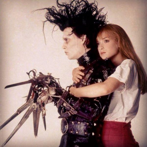Edward Scissorhands and Kim