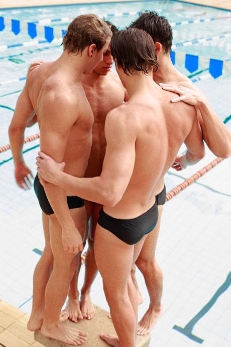 фото пловцов голых